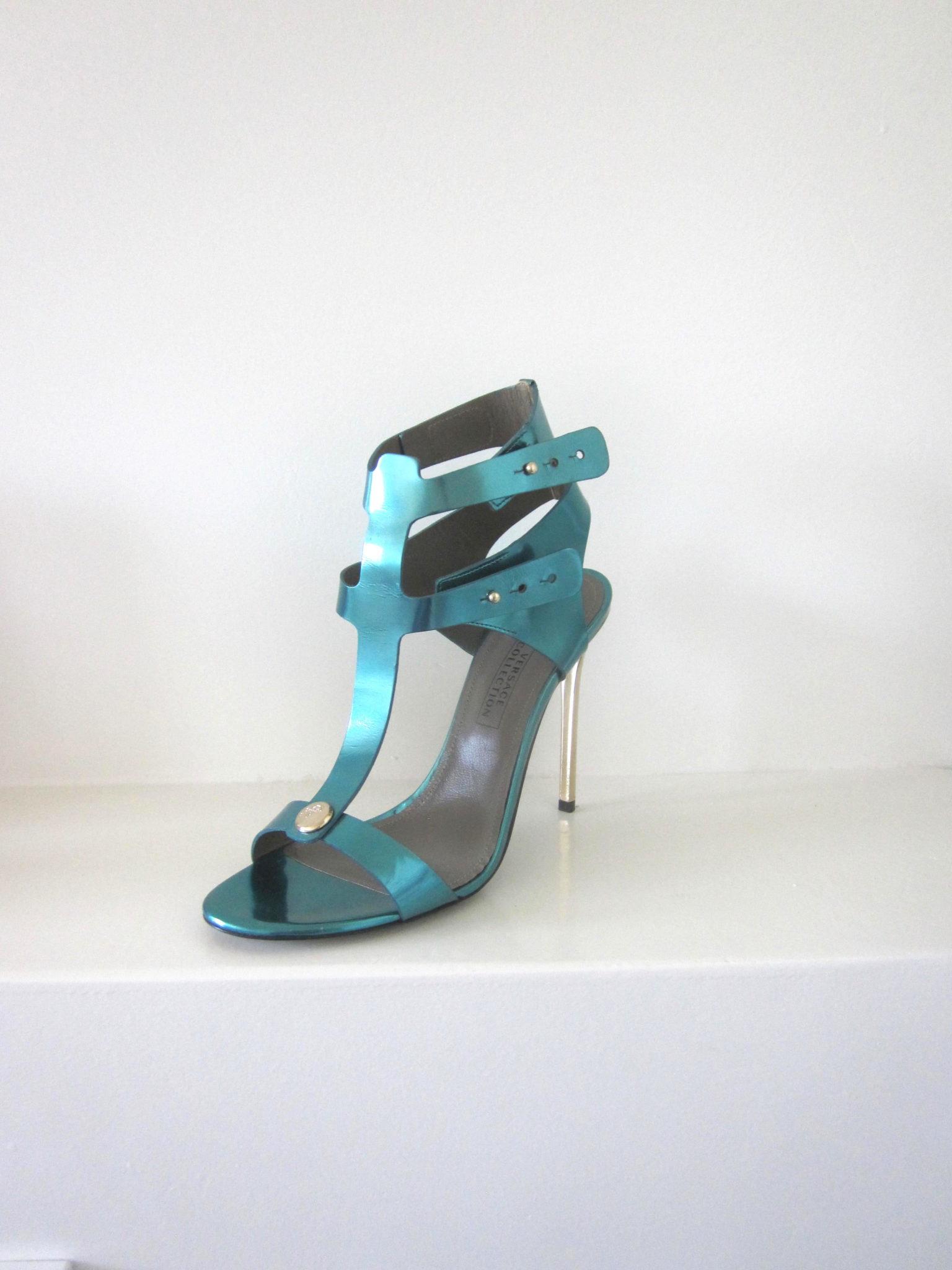 High Heels Sandaletten Von Versace Collection Glam Connection